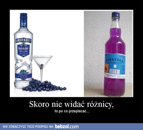 Blueberry vodka :)