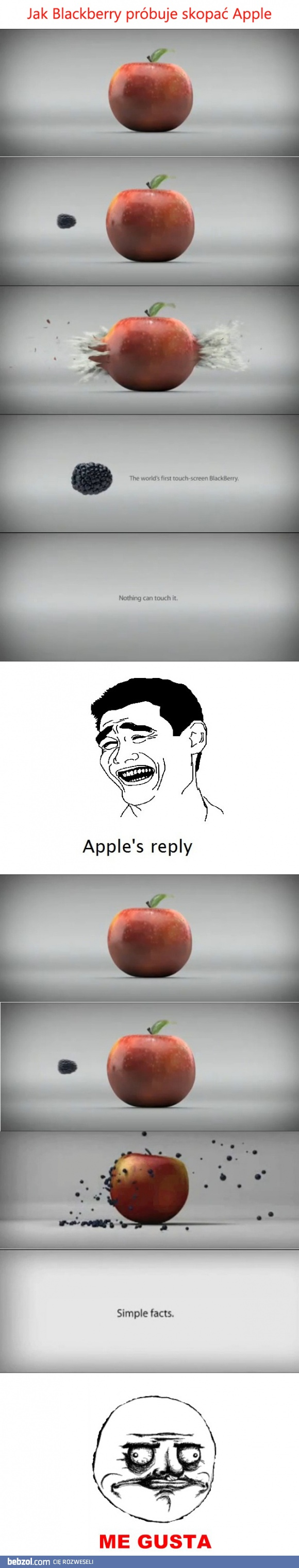 blackberry vs. apple