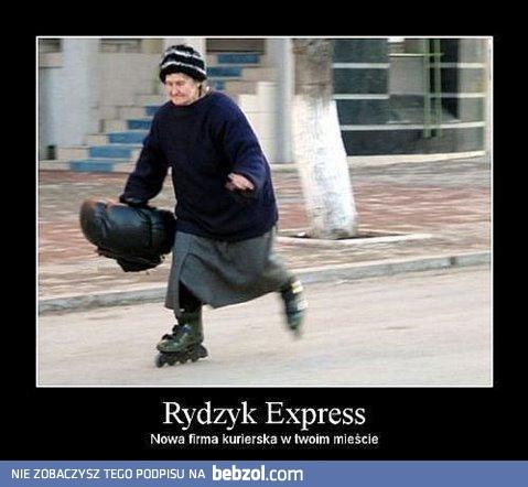 Rydzyk express | bebzol.com