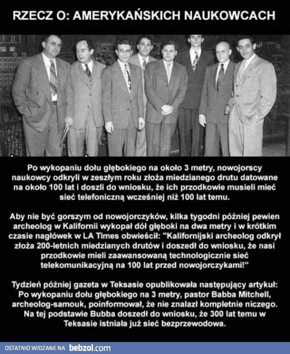 Amerykańscy naukowcy