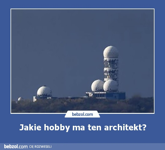 Jakie hobby ma ten architekt?