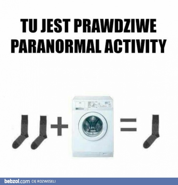 Prawdziwe paranormal activity