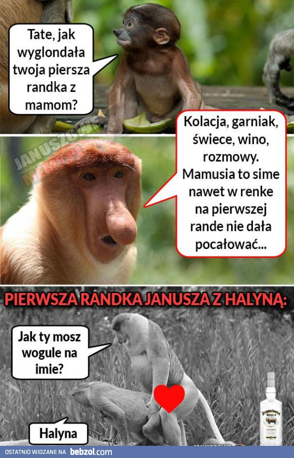 Pierwsza Randka Janusza I Halyny Bebzolcom