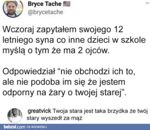 Tolerancja vs twoja stara