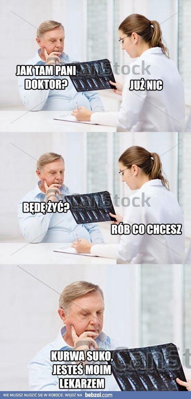 Kobieta lekarz :D