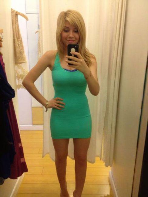 Pikne Kobiety W Kusych Sukienkach Viii  Bebzolcom-6519